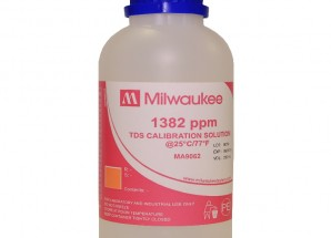 1382 ppm TDS Calibration Solution, 230 mL Milwaukee